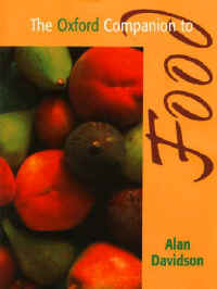 The Oxford Companion to Food<BR></A> Alan Davidson
